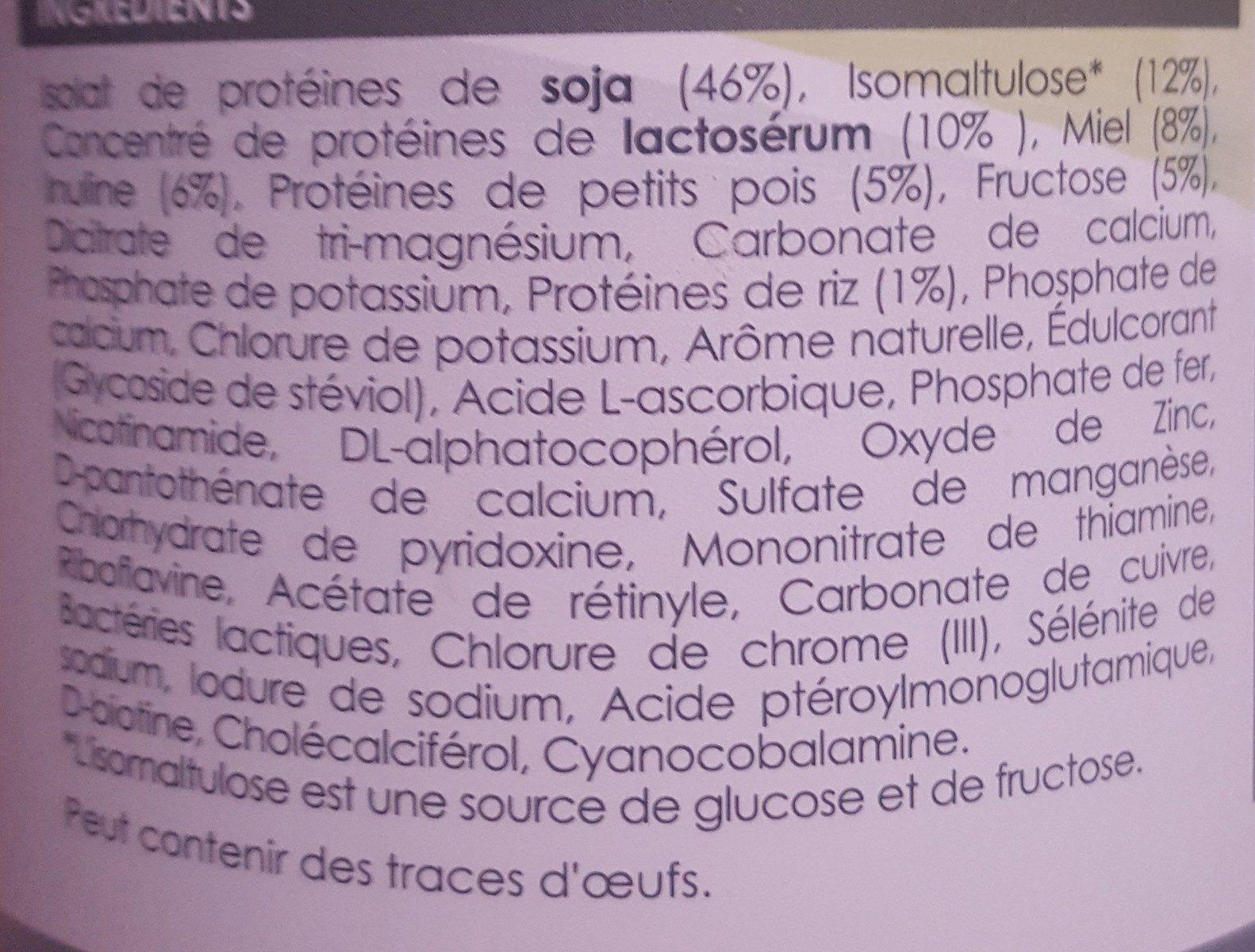 Lineavi Substitut De Repas - Ingrédients - fr