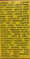 Bayer Supradyn Intensia 30 Comprimés Effevescents - Ingrédients