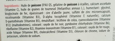 Suvéal Grossesse Fer 30 Capsules Densmore - Ingrédients