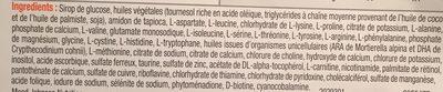 Nutramigen Puramino - Ingrédients - fr