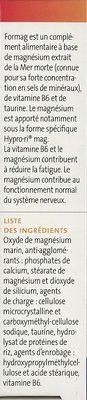 Formag - Ingrédients - fr