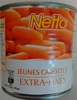 Jeunes carottes extra fines - Produit