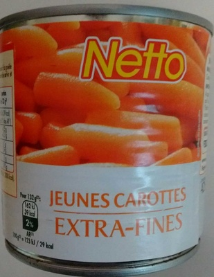 Jeunes carottes extra fines - Product