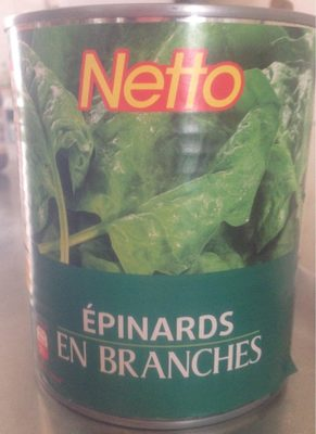 Epinards en branches - Product
