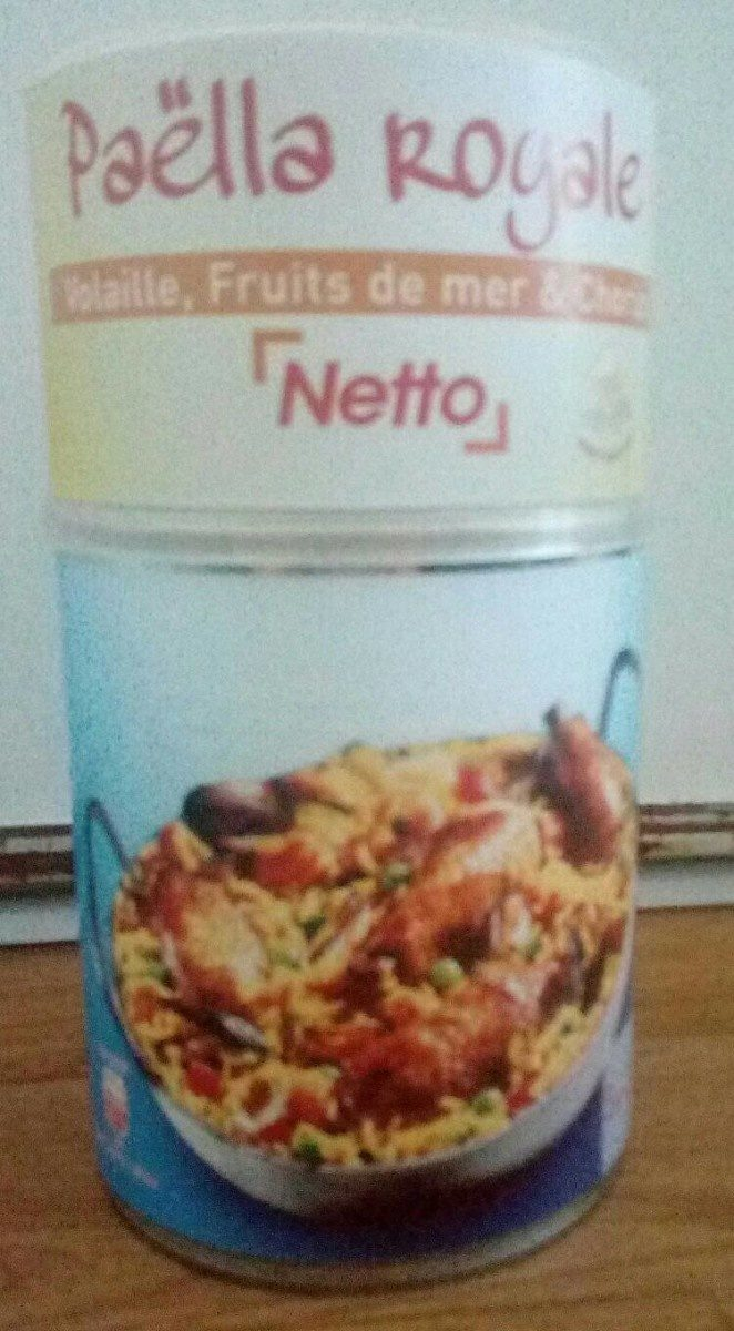 Paëlla (Volaille, Fruits de mer et Chorizo) - Produit - fr