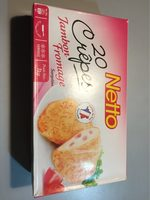 20 crepe jambon fromage - Nutrition facts - fr
