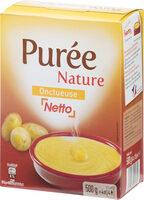 Purée nature onctueuse - Produit - fr