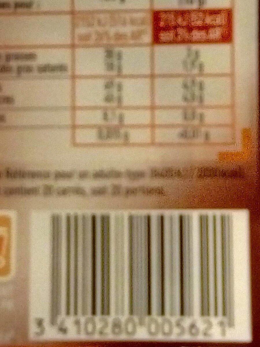 Chocolat noir dessert 200g - Informations nutritionnelles - fr