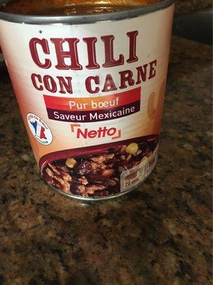 Contrees Gourmandes Chili Con Carne - Produit - fr