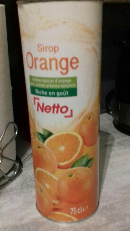Sirop d'orange nettoyage - Produit - fr