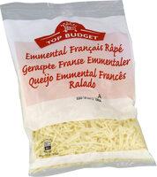 Emmental français râpé - Produit - fr
