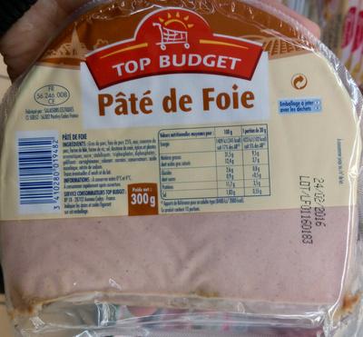p 226 t 233 de foie top budget 300 g
