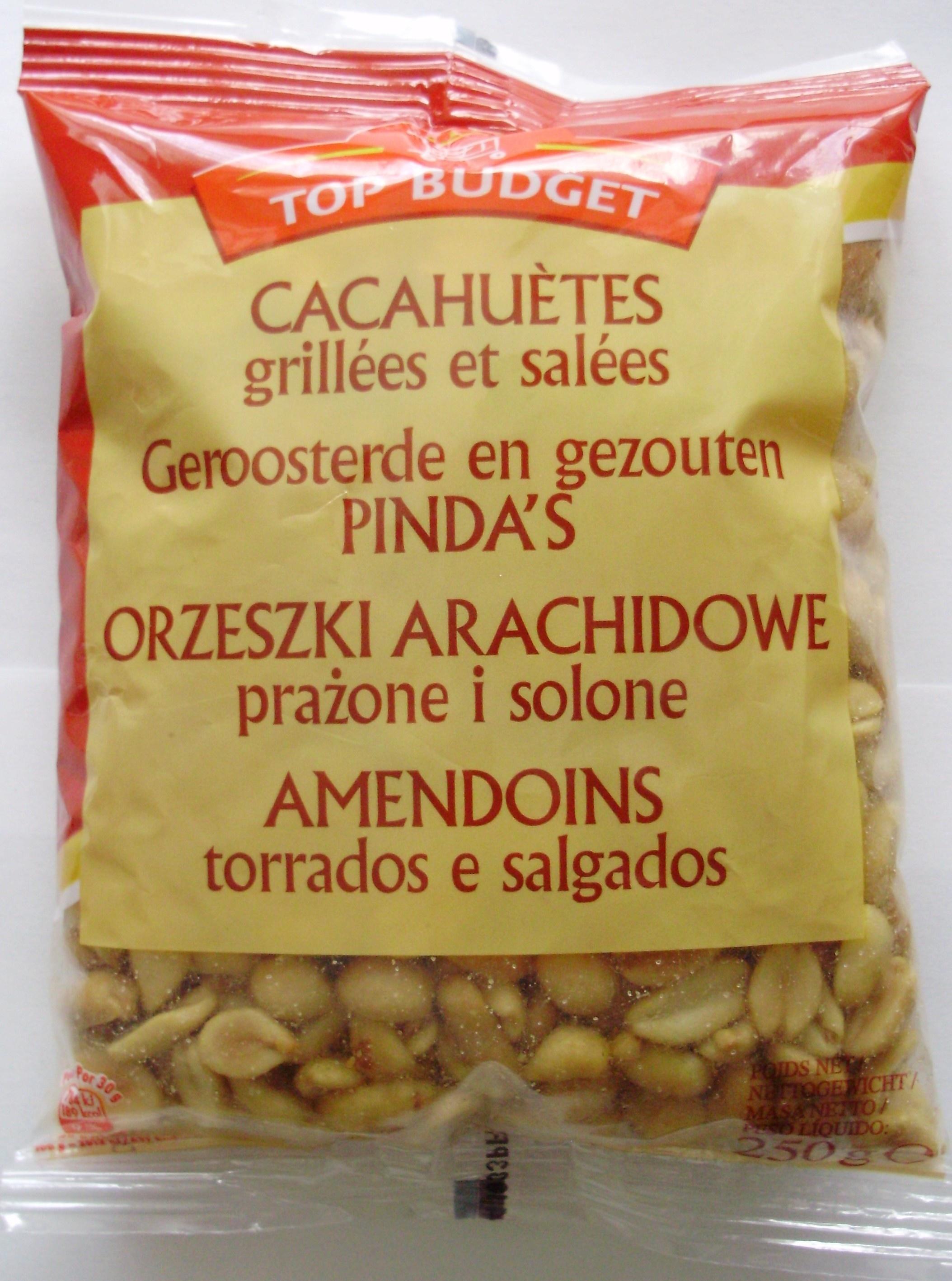 Cacahuètes grillées et salées - Produkt - pl