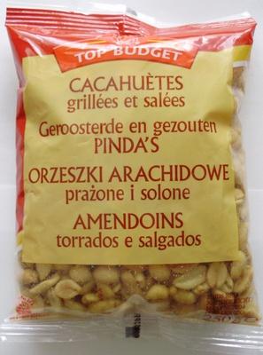 Cacahuètes grillées et salées - Produto