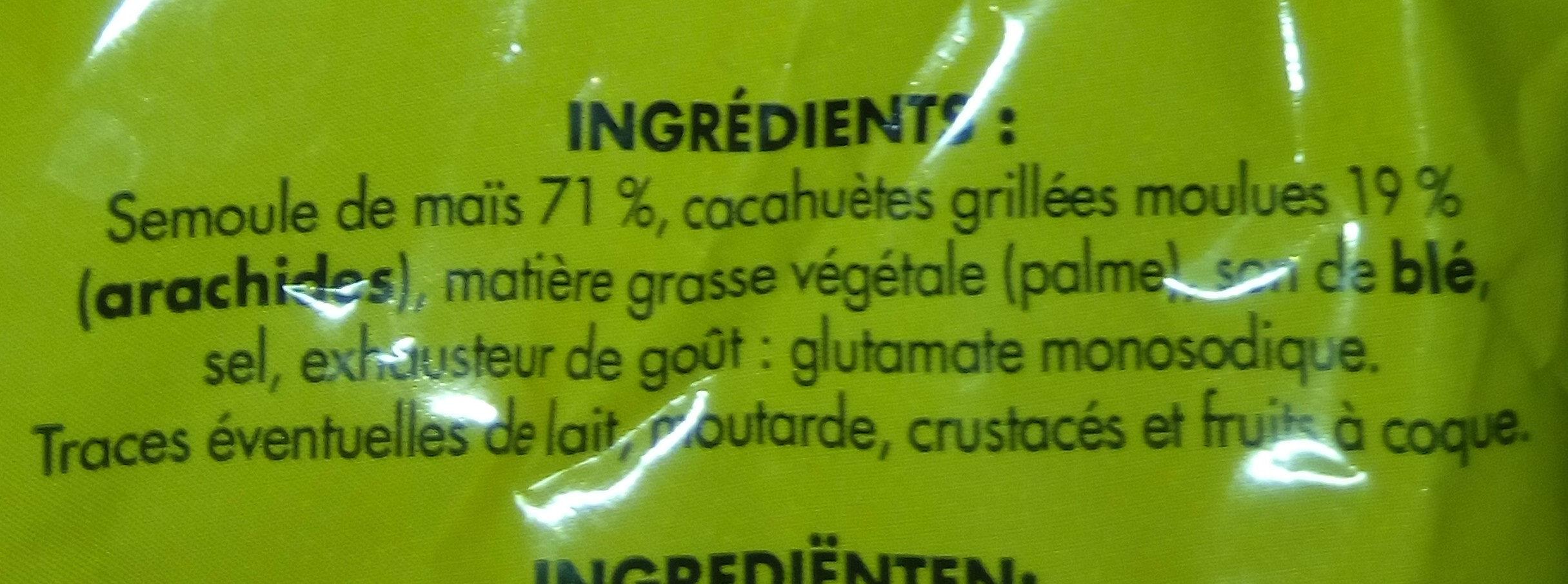 Soufflé à la cacahuète - Ingrediënten - fr