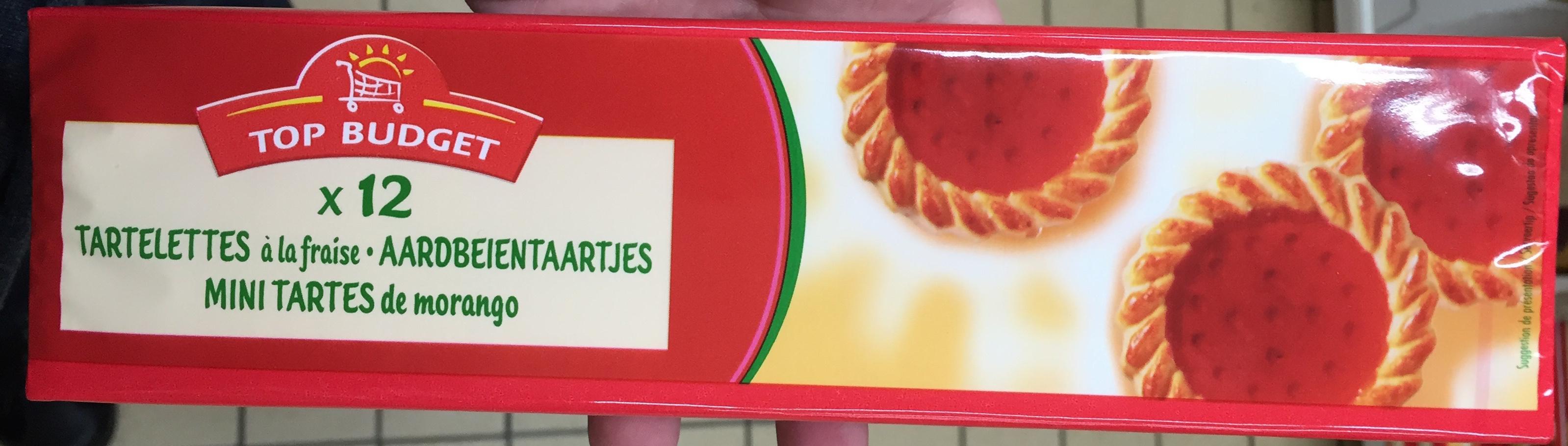 Tartelettes à la fraise - Produit