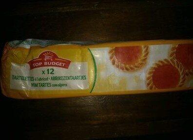 Tartelettes à l'abricot - Produit