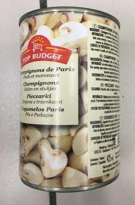Champignons de Paris  - Pies et morceaux - 产品 - fr