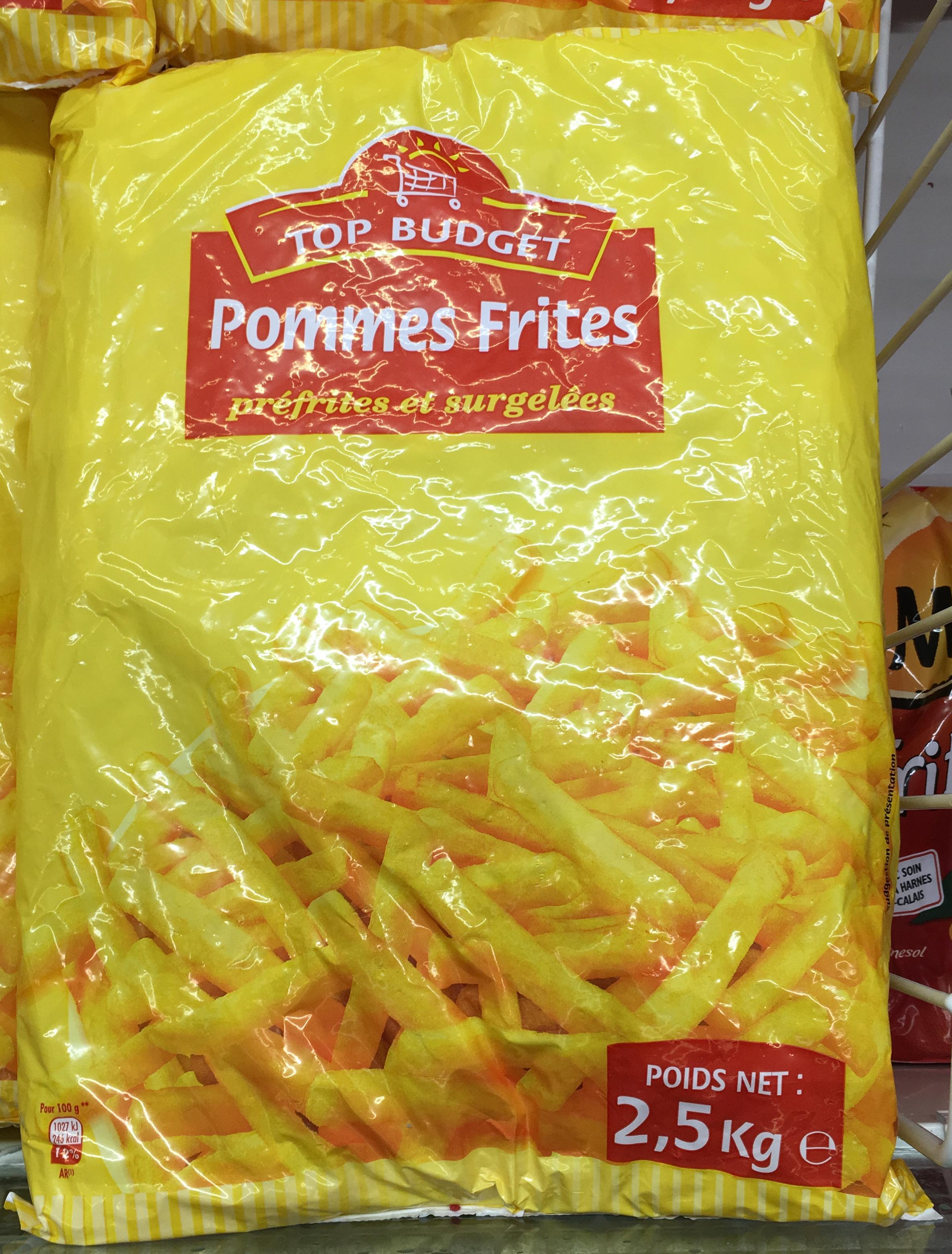 Pommes Frites préfrites et surgelées - Produit - fr
