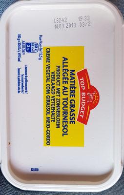 Beurre matière grasse allégée au tournesol - Product - fr