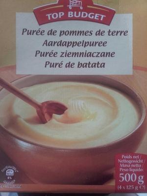 Purée de pommes de terre TOP BUDGET - Produit