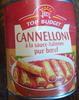 Cannelloni à la sauce italienne (pur bœuf) - Produit