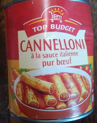 Cannelloni à la sauce italienne (pur bœuf) - Produkt