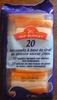 20 Bâtonnets saveur crabe - Produit