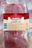 Tranchettes de Jambon Cru - Produit