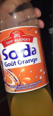 Boisson goût orange - Produit