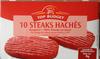 10 steaks hachés - Producto