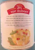 Cocktail de fruits au sirop léger - Produit - fr
