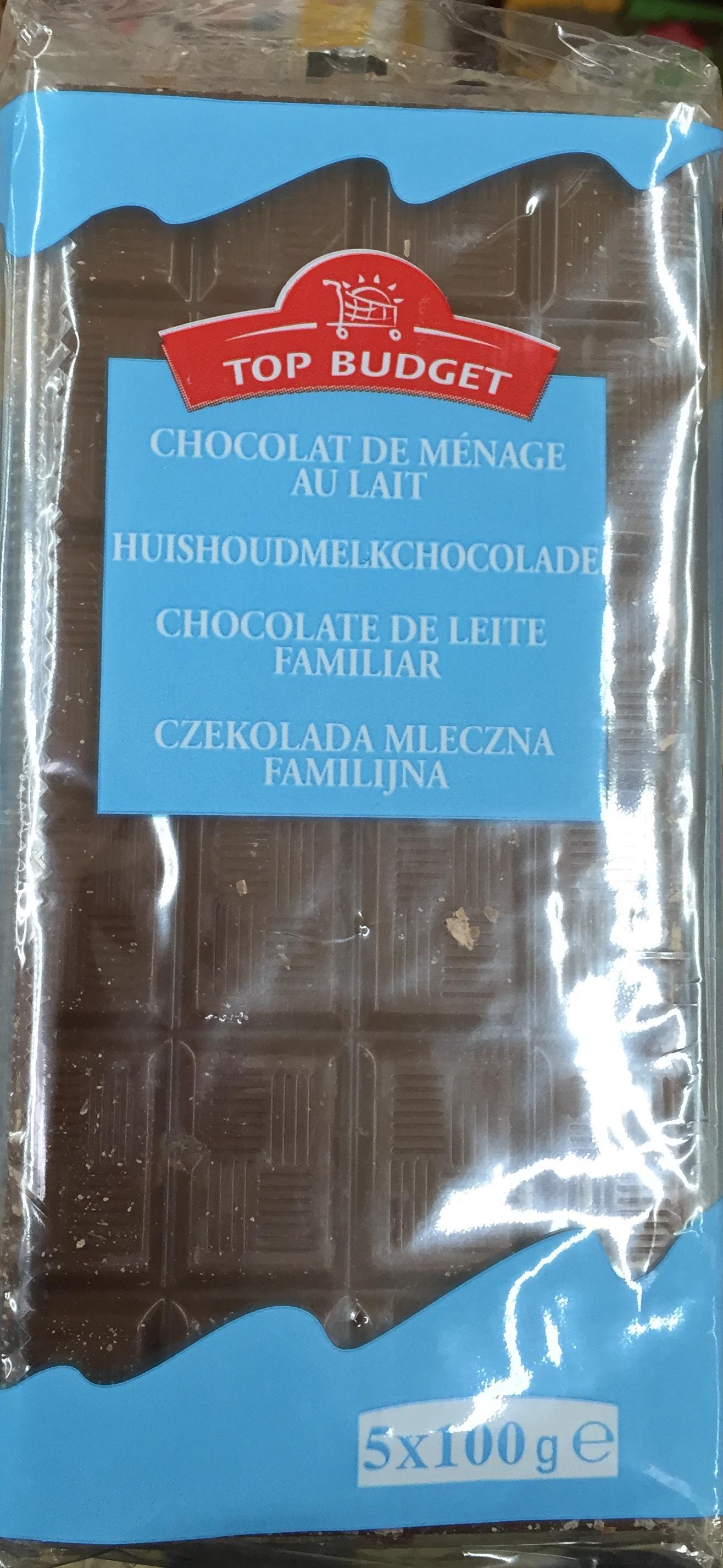 Chocolat de ménage au lait - Product