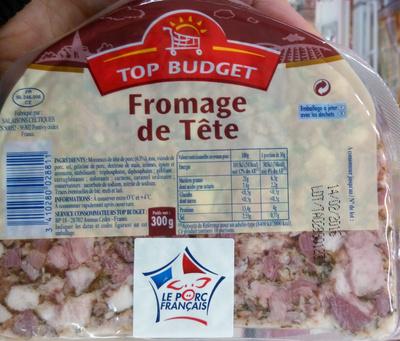 Fromage de tête - Produit