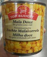 Maïs Doux En Grains Sous Vide, La Boîte, - Product