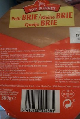 Petit Brie - Product
