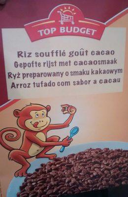 Riz soufflé goût cacao - Produit - fr