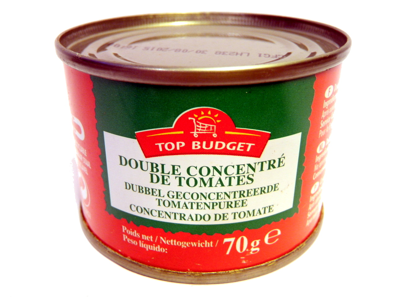 Double concentré de tomates (28%) - Product