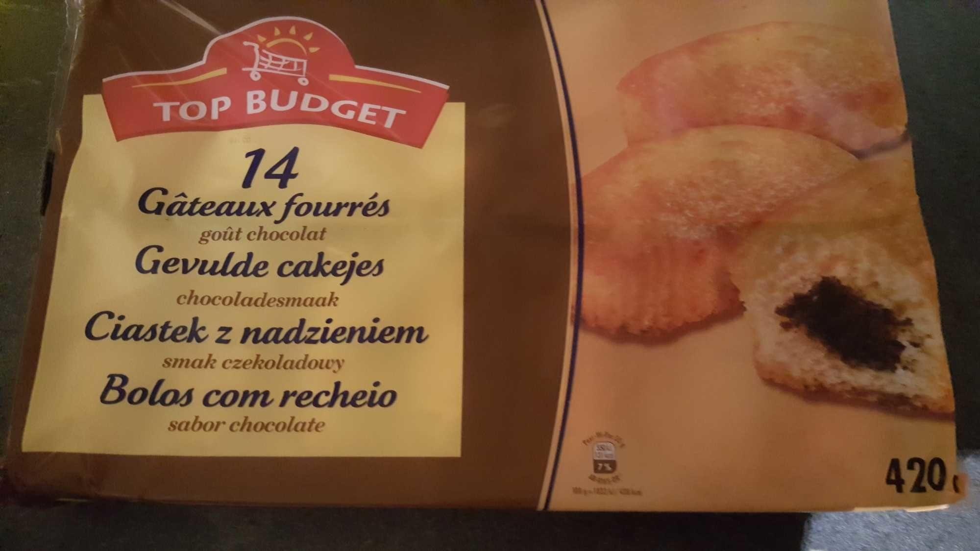 Gâteau fourrés goût chocolat - Produit - fr