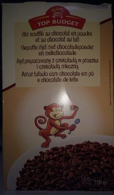Riz Soufflé Goût Cacao - Produit