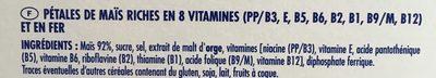 Corn Flakes 750 g - Ingrédients - fr