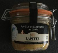 Fois gras de canard entier des landes - Product - fr