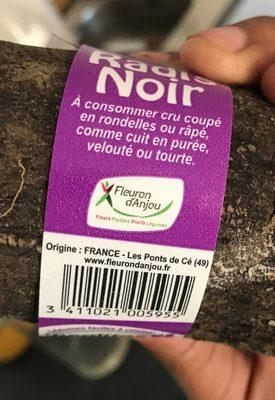 Radis noir - Ingrédients - fr