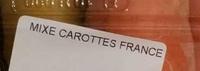 Carottes - Ingrédients