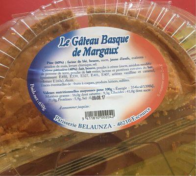 Gateau Basque - Produit - fr