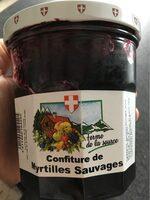 Confirure de myrtilles sauvages - Prodotto - fr