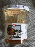 Confiture de mirabelles - Produit