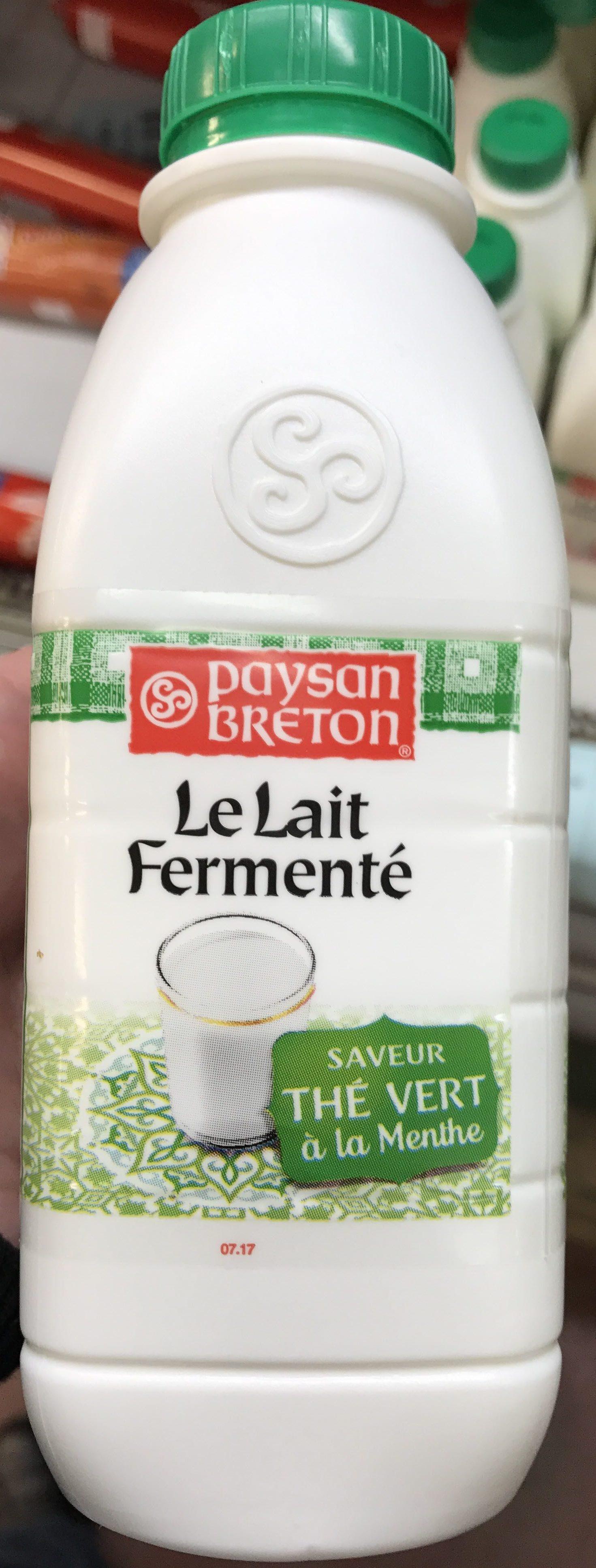 Le Lait Fermenté saveur Thé vert à la menthe - Product - fr