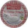 La Crème Fraîche Epaisse Paysan Breton - Produit