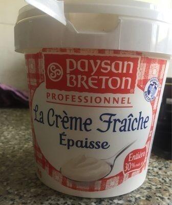 La crème fraîche épaisse - Produit - fr